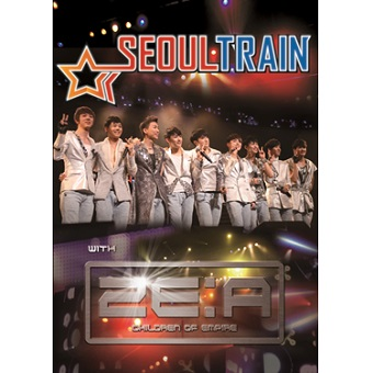 「SEOUL TRAIN with ZE:A」DVD / ZE:A