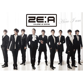 「Here I am」(Type-A)CD+フォトブック/ZE:A