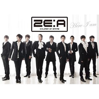 「Here I am」(Type-A)CD+フォトブック/ZE:A