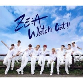 「Watch Out~熱愛注意報~」(Type-A) 写真集付/ZE:A