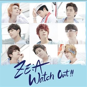 「Watch Out~熱愛注意報~」(Type-C)DVD付/ZE:A