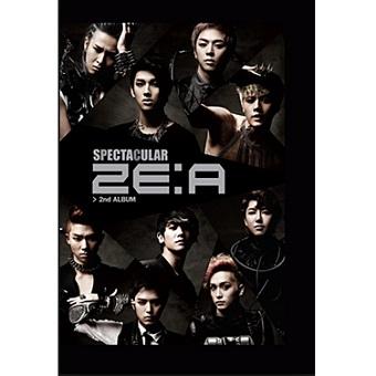 【韓国盤】2ND Album「SPECTACULAR」/ ZE:A