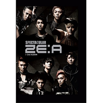 【韓国盤】2ND Album「SPECTACULAR」/ ZE:A
