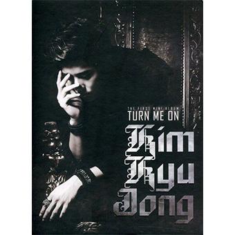 【韓国盤】キム・キュジョン(SS501)1stミニアルバム「TURN ME ON」