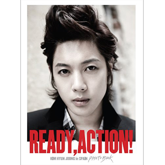 キム・ヒョンジュン「Ready Action!~Spain Photo Book」