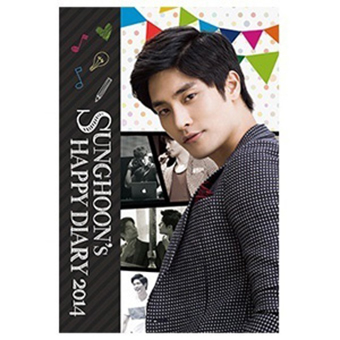 SUNGHOON's HAPPY DIARY 2014 DVD / ソンフン