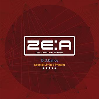 【直筆サイン入り】「D.D.Dance」Special Limited Present / ZE:A
