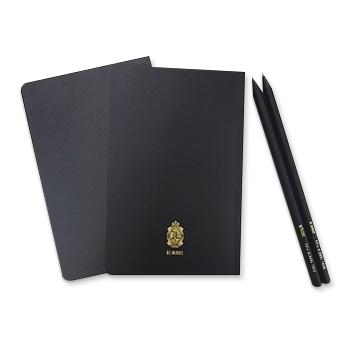 ノート2冊(裏) & 鉛筆2本
