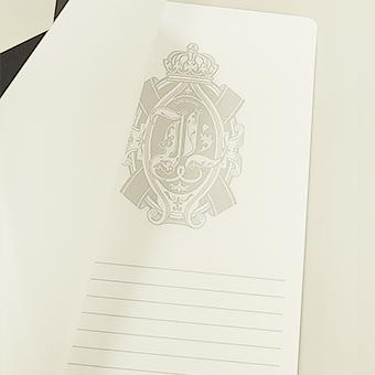 ノート中面