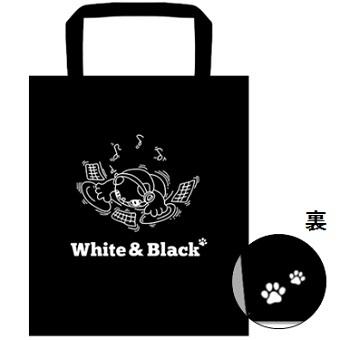 【White&Black】ハンカチ