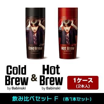 「BTS コールド&ホットブリューbyバビンスキーコーヒー飲み比べセットF」 2本セット / BTS