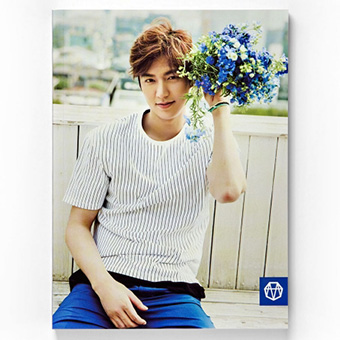 【MINOZ OFFICIAL GOODS】ノート(BLUE) / イ・ミンホ