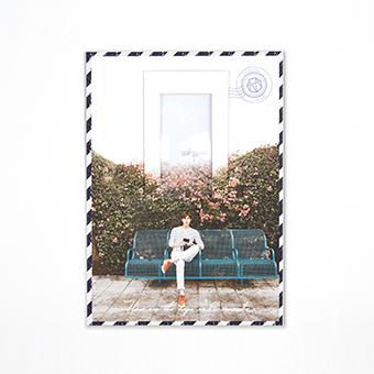 ★【MINOZ OFFICIAL GOODS】ルーペ付しおり / イ・ミンホ
