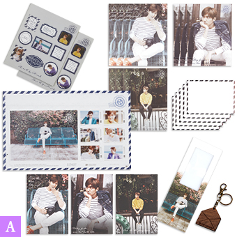 【MINOZ OFFICIAL GOODS】Aセット / イ・ミンホ