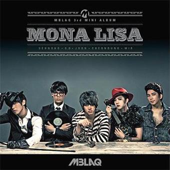 韓国輸入盤「Mona Lisa」 / MBLAQ