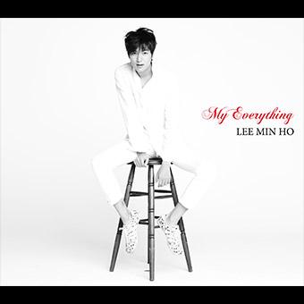 1st アルバム「My Everything」Type-B / イ・ミンホ