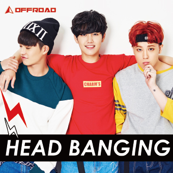 OFFROAD 1stシングル「HEAD BANGING」Type-B2