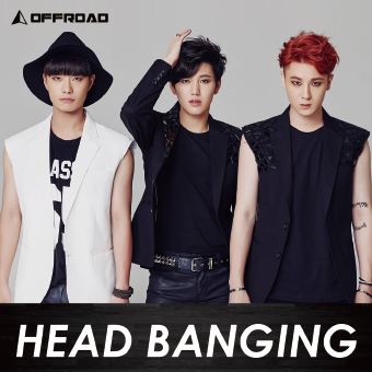 OFFROAD 1stシングル「HEAD BANGING」Type-A2