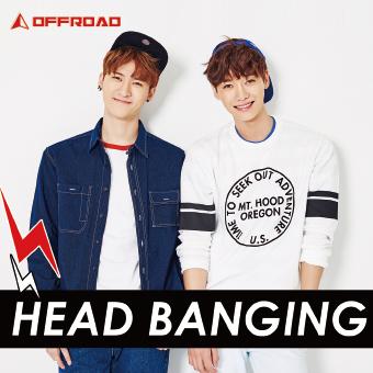 OFFROAD 1stシングル「HEAD BANGING」Type-B3