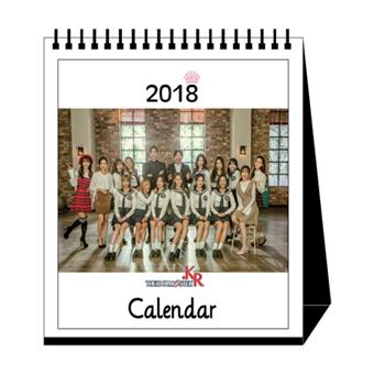 R.G.P公式 2018卓上カレンダー
