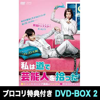 ★「私は道で芸能人を拾った」DVD-BOX2 / ソンフン
