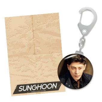 2018 Sunghoon公式グッズ キーリング / ソンフン
