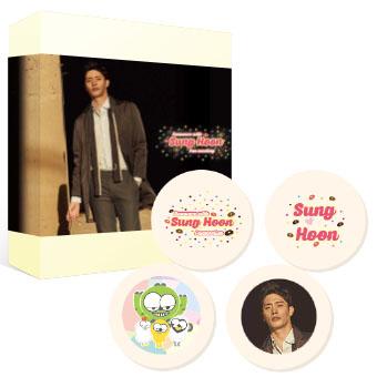 ★2018 Sunghoon公式グッズ ゴーフレット  1箱  / ソンフン