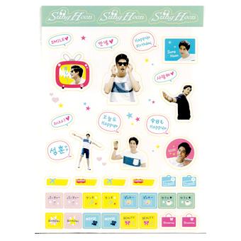 Sunghoon 2014公式グッズ ステッカー / ソンフン