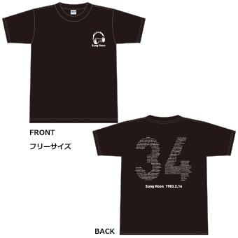 Sunghoon Winter Show Tシャツ/ソンフン