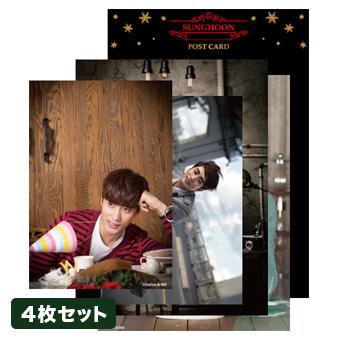 【2015 Sunghoon Christmas Show】ポストカード/ソンフン