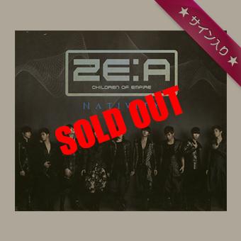 【韓国盤】NATIVITY / ZE:A