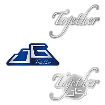 【Together】バッジ(3点セット)/イ・ジュンギ